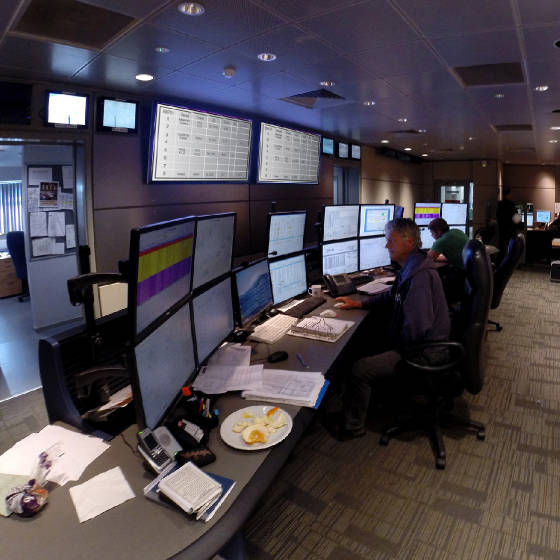 Project 2 for Control room design jobs